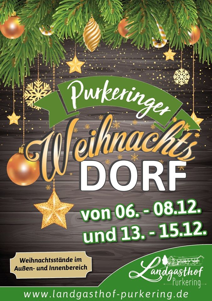 Purkeringer Weihnachtsdorf